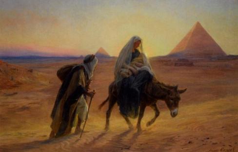 Jāzeps un Marija – bēgļi un imigranti?