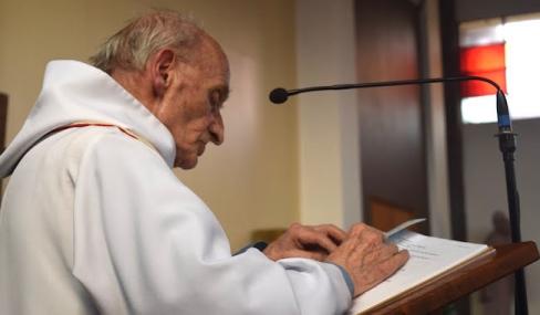 Noslepkavots Svētās Mises laikā