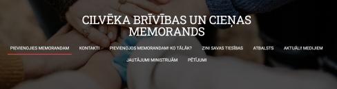 CILVĒKA BRĪVĪBAS UN CIEŅAS MEMORANDS