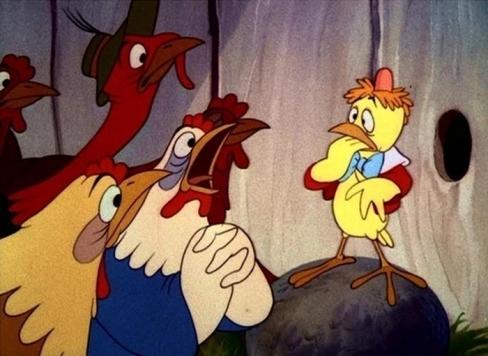 Reiz kādā vistu kūtī… Chicken Little, meli, bailes un mēs